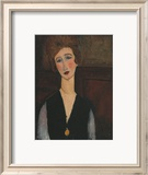 Portrait of a Woman, c.1918 Affiches par Amedeo Modigliani