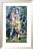 Couple d'Amants Affiches par Oskar Kokoschka
