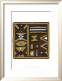 Tribal Rhythms I Prints by Virginia A. Roper