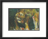 The Tigon Poster by Oskar Kokoschka
