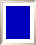 Untitled, Blue Monochrome, c.1961 (IKB73) Affiches par Yves Klein