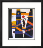 Liaison, 1932 Limited Edition Framed Print by Wassily Kandinsky