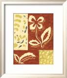 Festive Floral II Prints by Virginia A. Roper