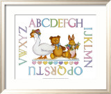 Alphabet Sampler Prints by Marnie Bishop Elmer