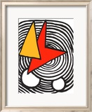 Composition V Limited Edition Framed Print by Alexander Calder
