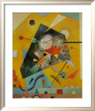 Silent Harmony Posters by Wassily Kandinsky