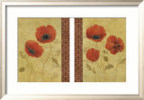 Poppy Patterns Print by Yuna