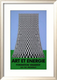Expo Art et Energie Limited Edition Framed Print by Victor Vasarely