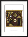 Tribal Rhythms IV Prints by Virginia A. Roper