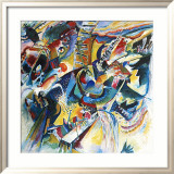 Improvisation Klamm Prints by Wassily Kandinsky