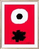 White Disc Red Ground, c.1967 Prints by Adolph Gottlieb