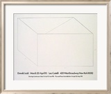 Drawings at Castelli, 1976 Julisteet tekijn Donald Judd