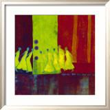 Red Carpet I Kunstdrucke von Marjolijn Van Ginkel