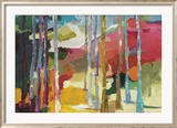Spring Forest I Limited Edition Framed Print by Barbara Rainforth
