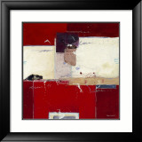 Red IV Prints by Ron van der Werf