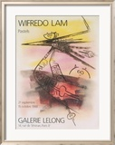 Pastels, 1988 Posters by Wilfredo Lam