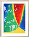 Roland Garros 1989 - De Maria Affiche par Nicola De Maria