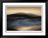 Blu Wind I Limited Edition Framed Print by John Rehner