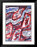 Sites aux Figurines Psycho-Sites Art par Jean Dubuffet