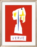 Cover For Verve, c.1954 Prints by Pablo Picasso