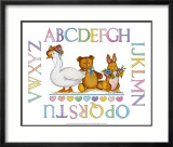 Alphabet Sampler Poster by Marnie Bishop Elmer
