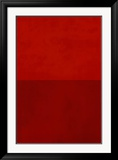 Monochrome Red, c.2005 Posters by Vlado Fieri