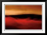Red Sand II Gerahmter Druck (limitierte Auflage) von John Rehner