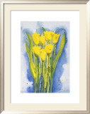 Yellow Tulips Posters by Witka Kova