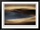 Blu Wind II Limited Edition Framed Print by John Rehner