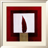 Red Feather Art by Pascale Nesson