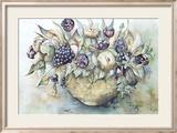 Flower Aquarel II Prints by Elizabeth Veltman-Adriaansz