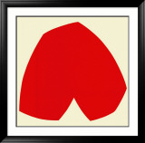 Red White, c.1962 Arte por Ellsworth Kelly