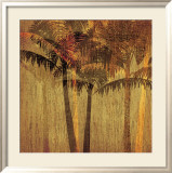 Sunset Palms II Print by Amori