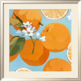 Fresh Oranges Prints by Martha Negley