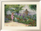 Little Gardener Prints by June Dudley