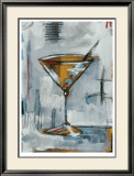 Liquid Forms V Limited Edition Framed Print by T. Graham