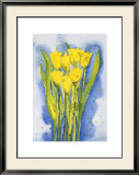 Yellow Tulips Art by Witka Kova