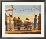 The Pier Art by Jack Vettriano
