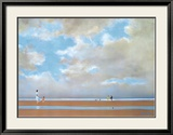La Plage, 1985 Prints by Pierre Doutreleau