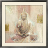 Buddha II Prints by Elvira Amrhein
