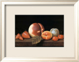 Nature Morte Aux Fraises Lminas por Charles Joly
