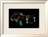 Auto Neon III Kunstdrucke von Didier Mignot