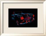 Auto Neon IV Schilderij van Didier Mignot