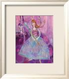 Princess in Purple Posters by Robbin Rawlings