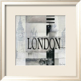 Tribute to London Art by Marie Louise Oudkerk