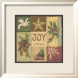 Joy To The World Print by Anita Phillips