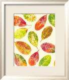 Vibrant Leaves I Art by Luisa Tosini