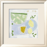 Homemade Lemonade Kunst von Louisa Bellis