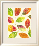 Vibrant Leaves II Art by Luisa Tosini