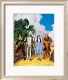 The Wizard of Oz: Glitter Yellow Brick Road Print
